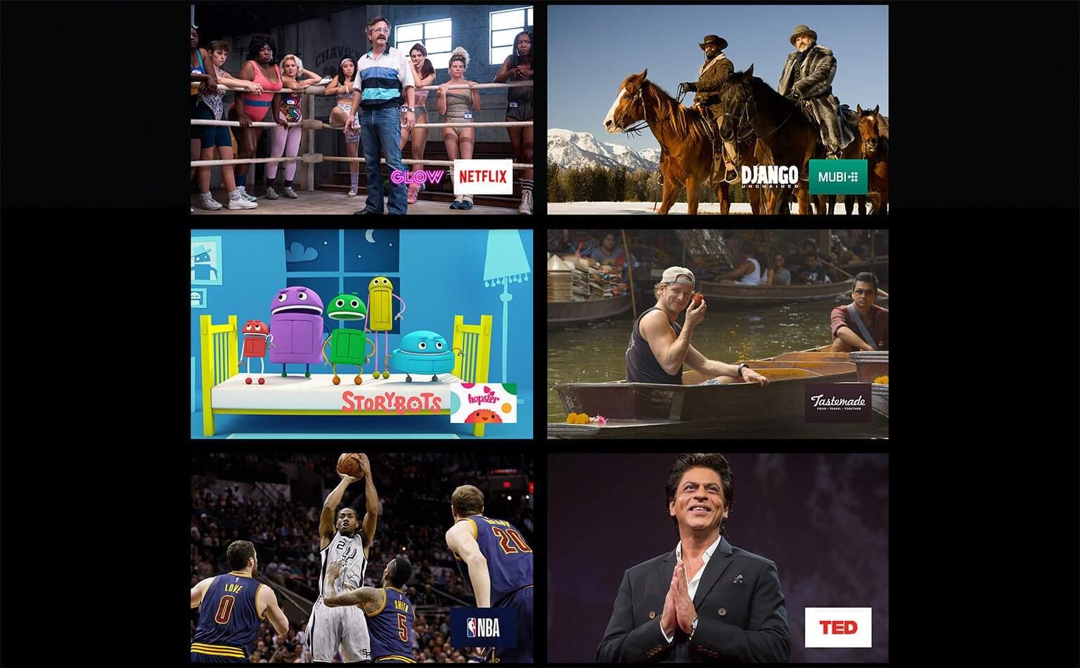AppleTV shows